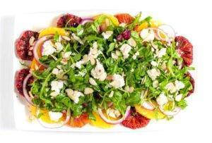 Flavour And Savour Winter Citrus Arugula Salad
