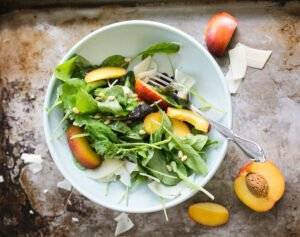 The Clever Carrot Arugula Salad