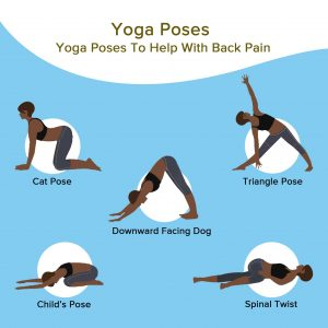 yoag poses for back pain